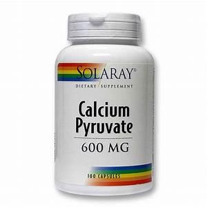 Solaray Calcium Pyruvate - 100 Capsules