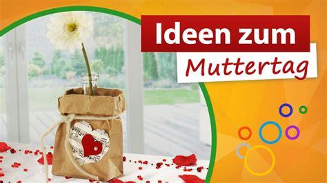 Ideen Zum Muttertag ♥ Blumendekoration Basteln
