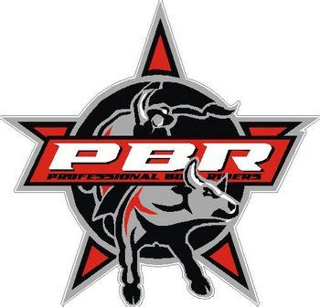 pbr professional bull riders color vinyl decal sticker