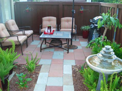small condo patio design ideas small patio makeover