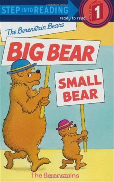 berenstain bears big bear small bear  stan berenstain reviews discussion bookclubs