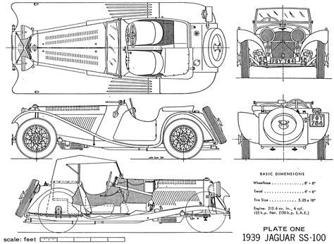 jaguar ss blueprint   blueprint