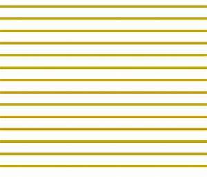 Thin Stripes Gold on White Horizontal fabric - sierra