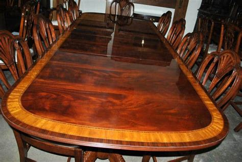 American Made Mahogany Dining Table, 12 Ft. Long ,000