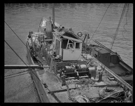 Fishing Boat Accident Nova Scotia by Leslie Jones The Camera Man Boston Herald Traveler