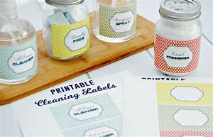 free printable cleaning labels mom 4 real With diy product labels