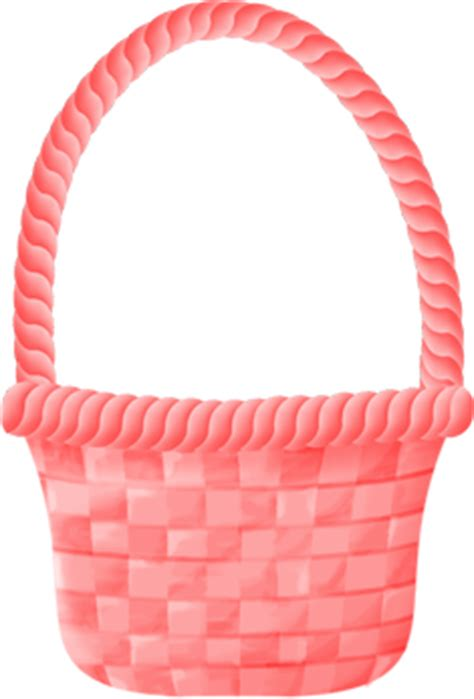 easter decorations to pink easter basket handle