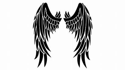 Wings Angel Dark Drawing Transparent Clipart Clipartmag
