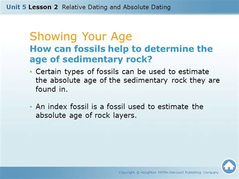 how are fossils used to date rocks relative dating