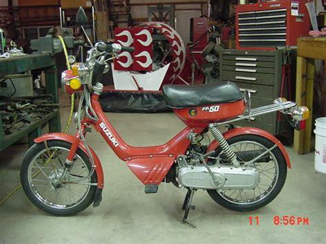 Suzuki Fa50 For Sale by For Sale 1982 Suzuki Fa50 450 Must See Moped Army
