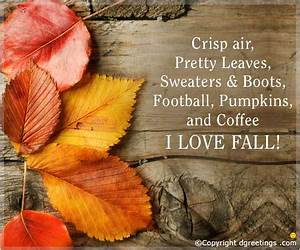 Autumn Quotes - Best Sayings About Autumn From Dgreetings