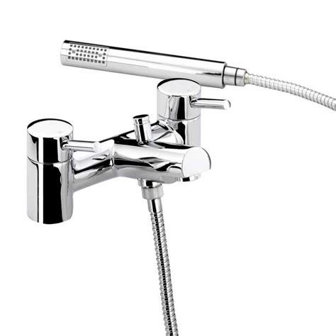 Bristan Prism Bath Shower Mixer by Bristan Prism Side Basin Mixer Pop Up Waste