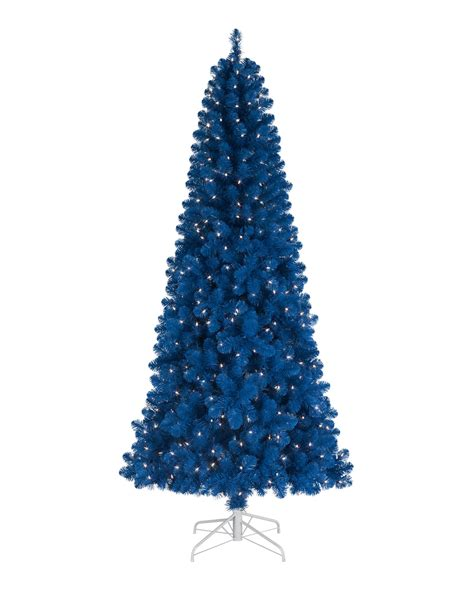 blue artificial christmas tree treetopia