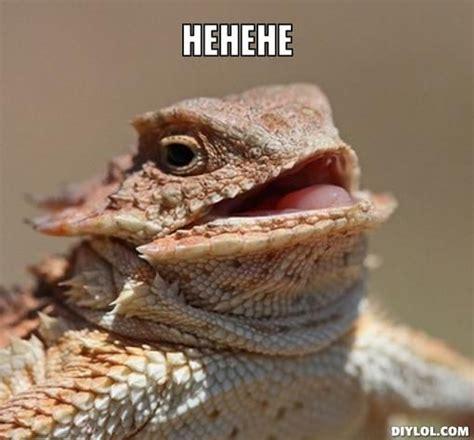Lizard Meme - he he he funnies pinterest