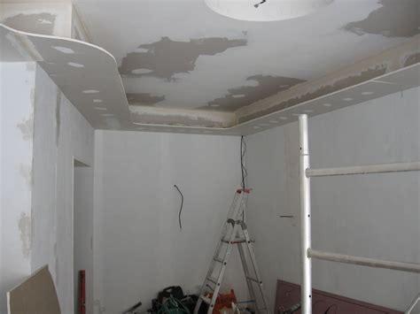 cuisine faux plafond decoration mur placo