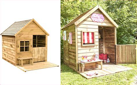 cabane de jardin enfant cabane enfant en bois sur pilotis winny avec forest style