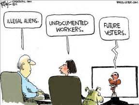 Image result for obama immigration cartoon