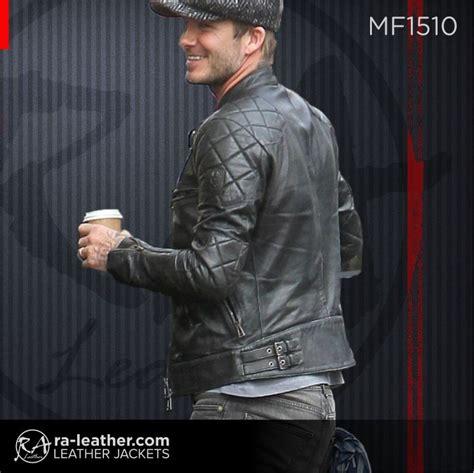 jaket kulit mf david beckham jaket kulit pria