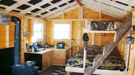 small cabins tiny houses interiors interior portable building cabin cabins   build