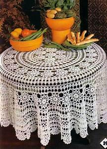 141 Best Images About Crochet Tablecloths On Pinterest