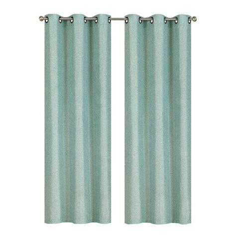 seafoam curtains gorgeous strauss seafoam stripe faux silk