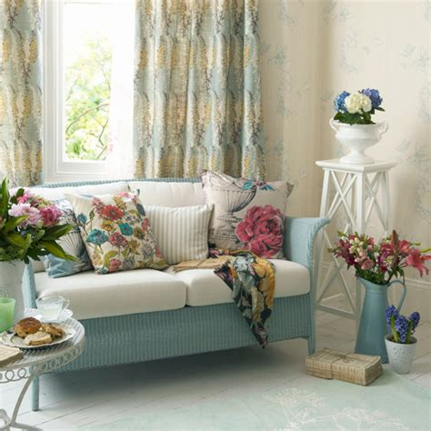 cottage chic living room home quotes spring summer special living room ideas in floral
