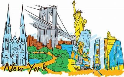 York Vector Doodle Stanley Mathis Digital Drawings