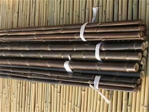 Bambou Noir Prix : cl ture r guli re bambou noir naturel 2 cm tiges de bambou noir naturel ~ Teatrodelosmanantiales.com Idées de Décoration