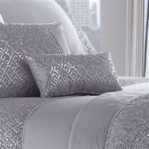 Shimmer   Sequin   Silver   Petite cushion     Tonys Textiles