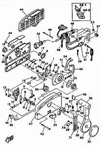 Mercury Outboard Throttle Control Box Parts