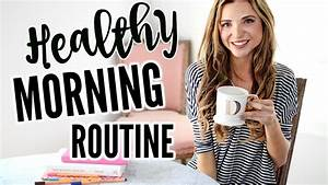Healthy Spring Morning Routine