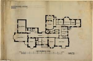 blueprint of a house photo gallery scottish island mansion designed by charles rennie