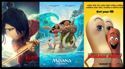 Best Animated Films Of 2016 (10+1list)
