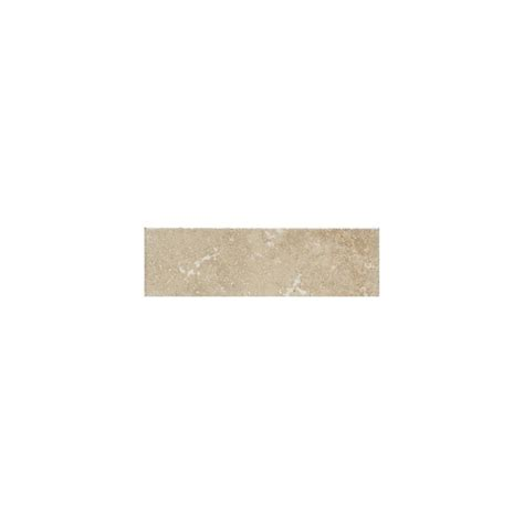 American Olean Glass Tile Trim by Shop American Olean Pozzalo Manor Gray Ceramic Bullnose
