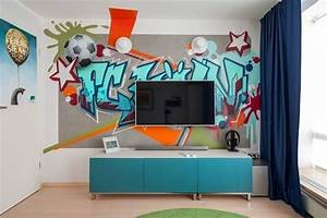 Graffiti Für Kinderzimmer : mit unseren ideen jugendzimmer gestalten ~ Sanjose-hotels-ca.com Haus und Dekorationen