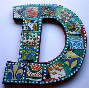 medium decoupage wood letter 39d39 collaged letter 55 With decoupage letters