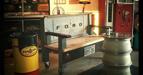 awesome rolling tailgate bench stacked wheel table man
