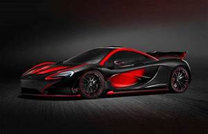 MSO creates custom black & red McLaren P1 | PerformanceDrive