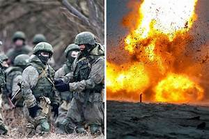 Russia WW3 ready as troops simulate ATTACK in huge ...