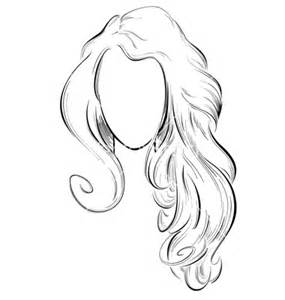 Drawing Girl with Long Hair