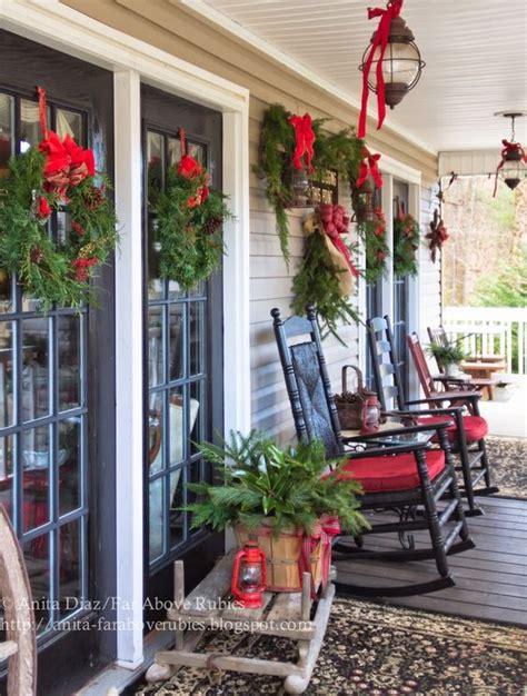 ideas  decorar tu porche esta navidad