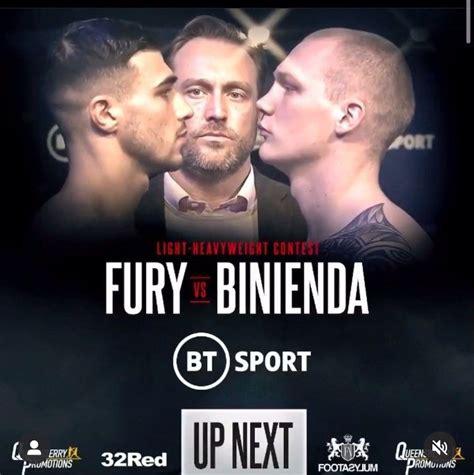 Up next: Tommy Fury Vs Przemyslaw Binienda # ...