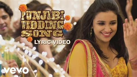 Punjabi Wedding Song Lyric