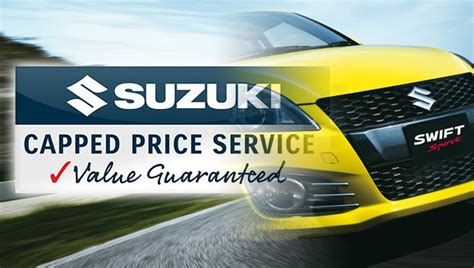 Suzuki Extended Warranty by Suzuki Australia Launches Capped Price Service Program