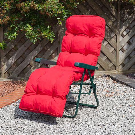 alfresia luxury garden relaxer chair cushion