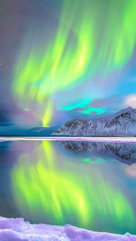aurora borealis norway iphone wallpaper iphone wallpapers