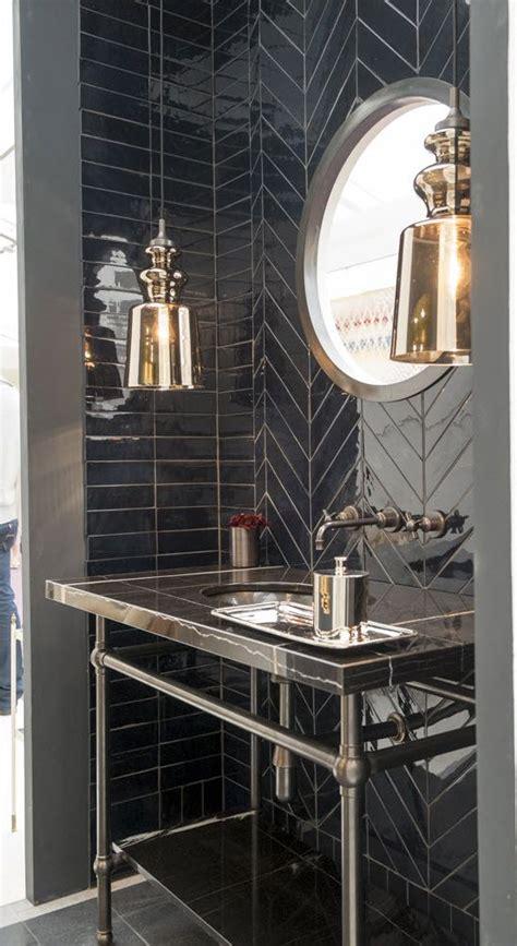 black  white bathroom wall tile designs ideas