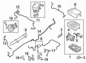 2017 Land Rover Discovery Suspension Ride Height Sensor