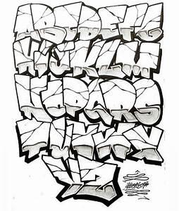 GRAFFITI ALPHABET NEW GENERATION: GRAFFITI LETTERS COOL DESIGN