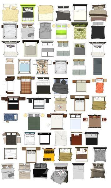Photoshop PSD Bed Blocks 1 ? CAD Design   Free CAD Blocks